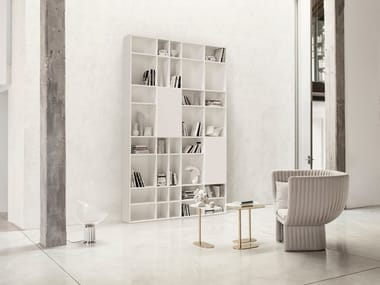 Sectional modular bookcase BOOK'S