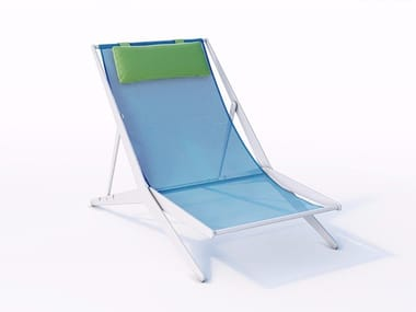 Technical fabric deck chair BOOMY
