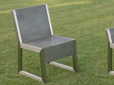 Sled base garden chair BORIS | Garden chair