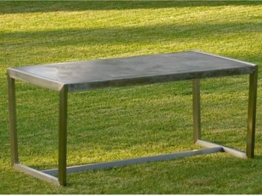 Rectangular garden table BORIS | Garden table