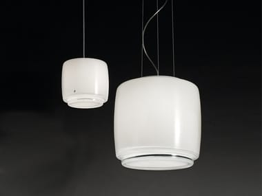Blown glass pendant lamp BOT SP