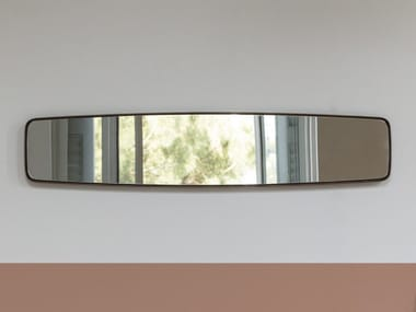 Rectangular wooden framed mirror BOTERO 2