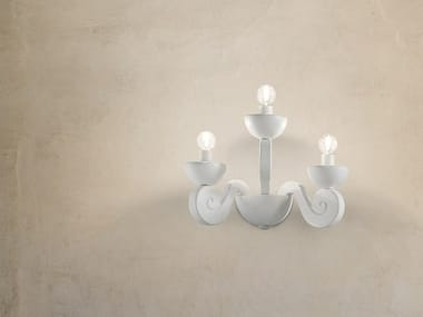 LED direct light expanded polyurethane wall lamp BOTERO A3