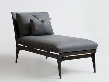 Upholstered fabric day bed BOUDOIR | Day bed