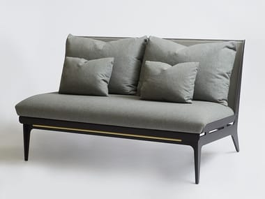 Fabric small sofa BOUDOIR | Small sofa