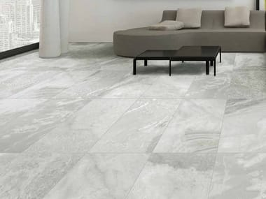 Indoor/outdoor porcelain stoneware flooring with stone effect BOULDER