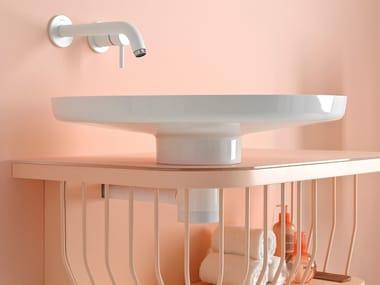 Lavabo sobre encimera de Ceramilux® BOWL | Lavabo sobre encimera