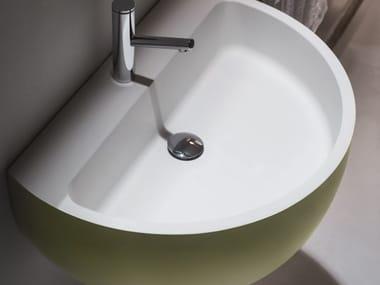 Wall-mounted Ceramilux® washbasin BOWL