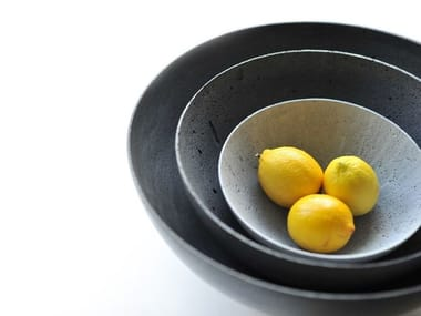 Cement serving bowl BOWLS