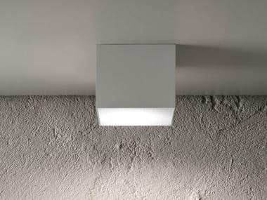 Plafoniera a LED in metallo BOX BIG
