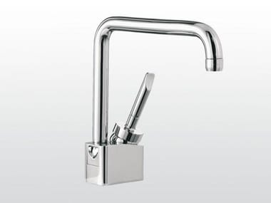 Single handle washbasin mixer with adjustable spout BOX | 3226