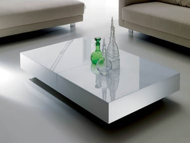 Height-adjustable extending coffee table BOX