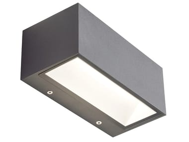 Applique per esterno a LED in alluminio pressofuso BOX