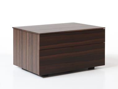 Nachttisch aus Holz mit Schubladen BOXES   Nachttisch