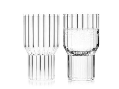 Set di bicchieri da acqua in vetro borosilicato BOYD   Bicchiere da acqua
