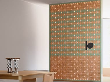 Terracotta element for partition wall BRAC