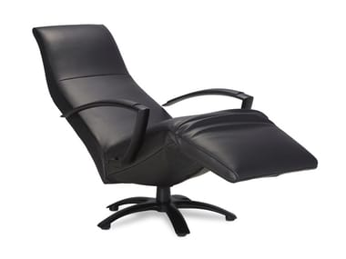 Reclining chair with armrests and headrest BRAINBUILDER