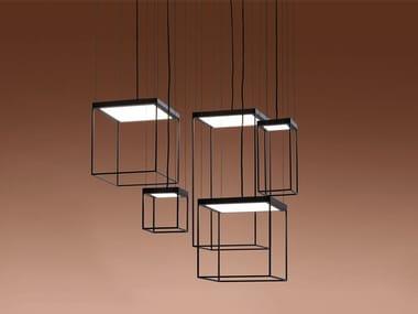Lampada a sospensione a LED in metallo BRASSIE