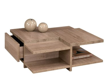 Low Coffee Table With Storage E Brem