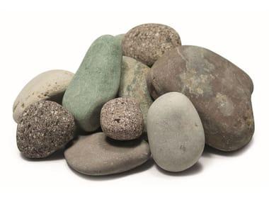 Natural stone decorative pebbles PEBBLE BRENTA
