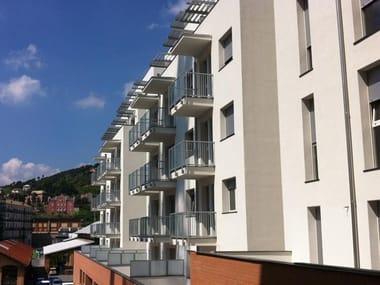 Parapetto in alluminio per finestre e balconi BRERA