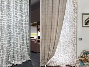 Devore fabric for curtains BRERA