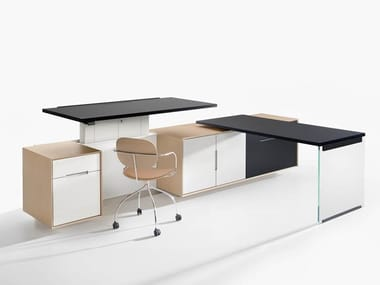 Office workstation / office storage unit BRERA25 | Office workstation