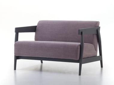 Fabric small sofa BRICK 309