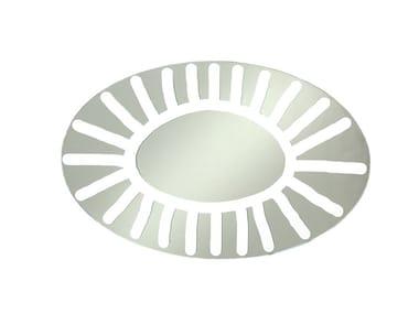 Espelho oval de parede BRICK 96
