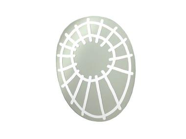 Espelho oval de parede BRICK 97