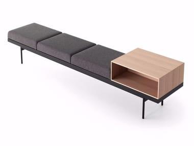 Fabric bench BRICK