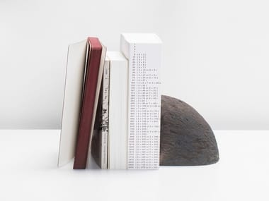Clay bookend BRICK | Bookend