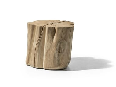 Wooden stool / coffee table BRICK L