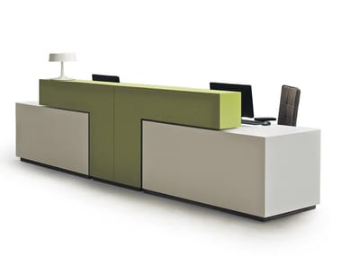 Modular Office reception desk BRIDGE