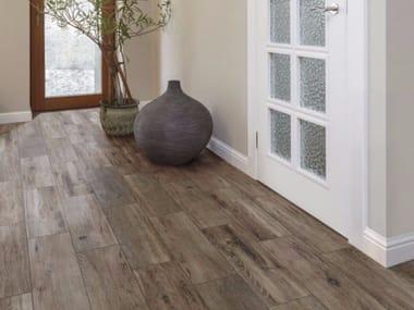 Ceramic granite flooring with wood effect BRIGANTINA