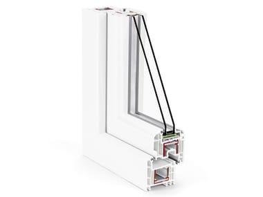 Sistema orientato in PVC con profondità profilo da 70 mm PROFILI REHAU 70 MM