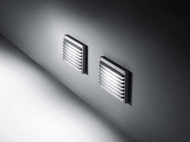 Segnapasso a parete in alluminio pressofuso BRIQUE | Segnapasso a parete
