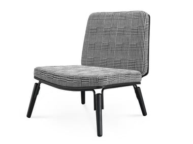 Upholstered fabric easy chair BROADWAY | Easy chair