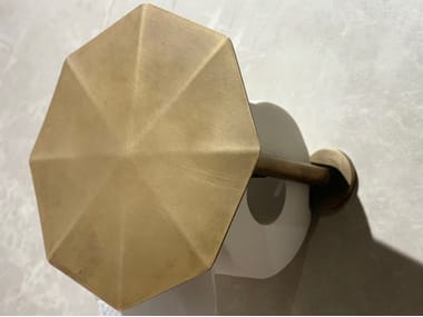 Metal toilet roll holder BROLLY
