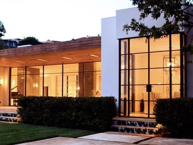 Porta-finestra in bronzo architettonico BRONZOFINESTRA B40 | Porta-finestra