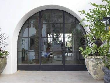 Porta-finestra a battente in bronzo con doppio vetro BRONZOFINESTRA B40 | Porta-finestra a battente