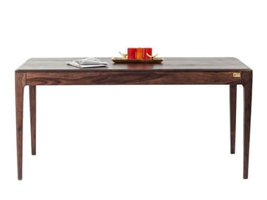 Rectangular walnut dining table BROOKLYN | Walnut table