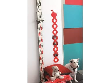 Polyurethane gel wall sticker / kids measuring stick BRUBRUCO