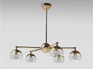 Brass chandelier BRUSSELS | Chandelier