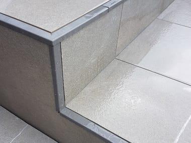 Profilo in acciaio inox o alluminio verniciato BORDERTEC BSJ