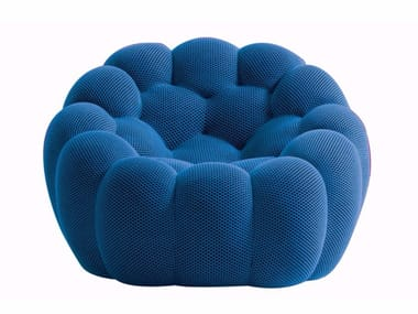 Fabric armchair BUBBLE | Armchair