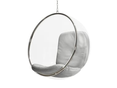 Swing acrylic armchair BUBBLE Chair