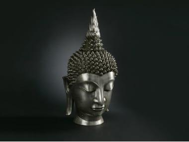 Bronze sculpture BUDDHA HEAD