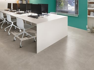 Porcelain stoneware wall/floor tiles with concrete effect BUILDTECH 2.0