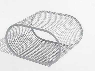 Rectangular aluminium coffee table BUIT | Coffee table